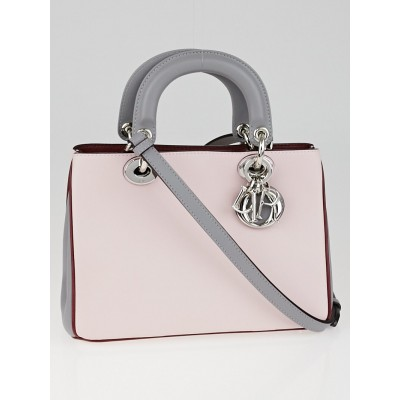 Christian Dior Tricolor Smooth Calfskin Leather Diorissimo Mini Bag