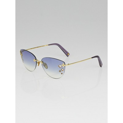 Louis Vuitton Violet Tint Rimless Desmayo Sunglasses