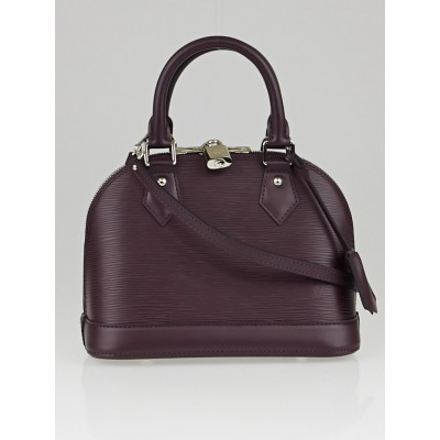 Louis Vuitton Quetsche Epi Leather Alma BB Bag