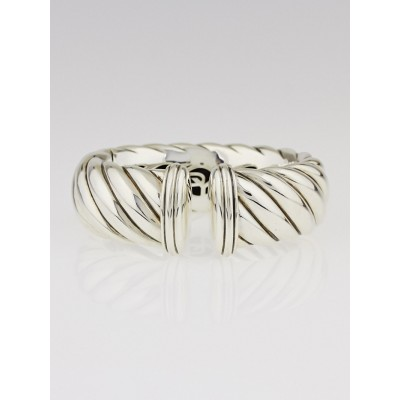 David Yurman Sterling Silver 25mm Waverly Bracelet