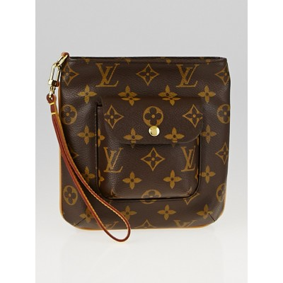 Louis Vuitton Monogram Canvas Partition Clutch Bag