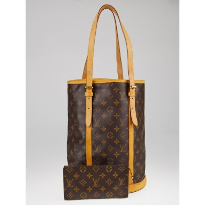 Louis Vuitton Monogram Canvas Large Bucket Bag w/ Accessories Pouch