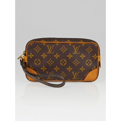 Louis Vuitton Monogram Canvas Marly Dragonne PM Clutch Bag