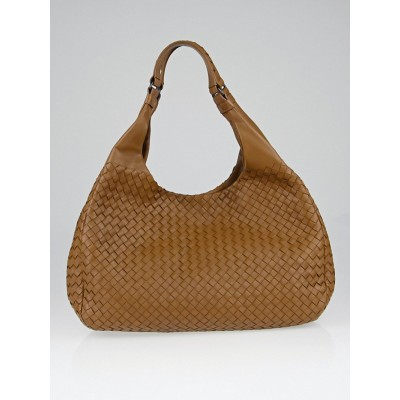 Bottega Veneta Chene Intrecciato Woven Nappa Leather Large Campana Bag