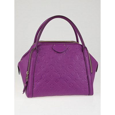 Louis Vuitton Amethyste Monogram Empreinte Marais MM Bag