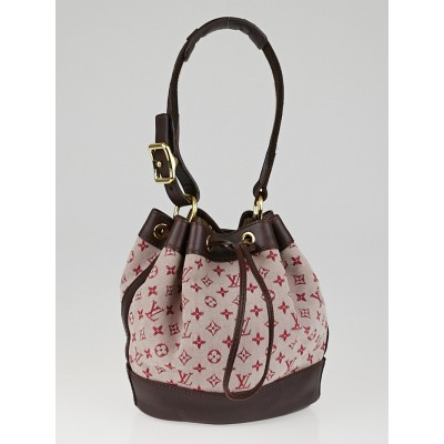 Louis Vuitton Cherry Monogram Mini Lin Noelie Bag