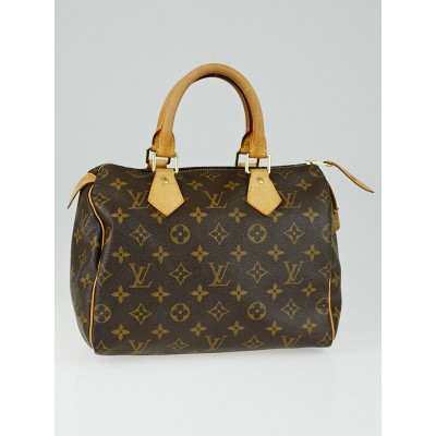 Louis Vuitton Monogram Canvas Speedy 25 Bag