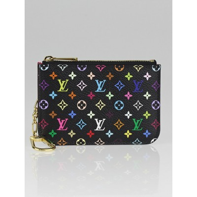 Louis Vuitton Grenade/Black Monogram Multicolore Pochette Cles NM Keys Holder