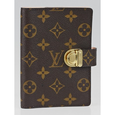 Louis Vuitton Monogram Canvas Rose Small Koala Agenda/Notebook Cover