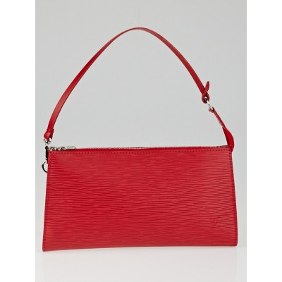 Louis Vuitton Rouge Epi Leather Accessories Pochette 24 Bag