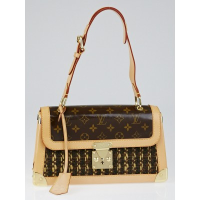 Louis Vuitton Limited Edition Tweedy Rabat Bag