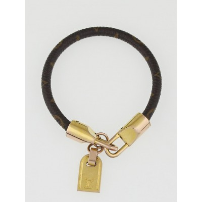 Louis Vuitton Monogram Canvas Luck It Bracelet