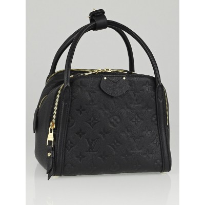 Louis Vuitton Black Monogram Empreinte Leather Marais BB Bag