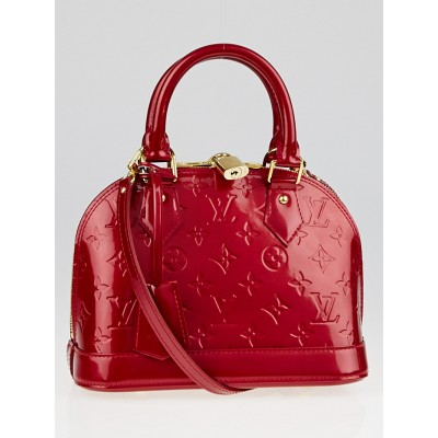 Louis Vuitton Pomme D'Amour Monogram Vernis Alma BB Bag