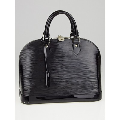 Louis Vuitton Black Electric Epi Leather Alma PM Bag
