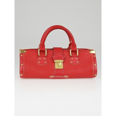 Louis Vuitton Geranium Suhali Leather L'Epanoui PM Bag