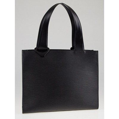 Louis Vuitton Black Epi Leather Z Gemeaux Tote Bag