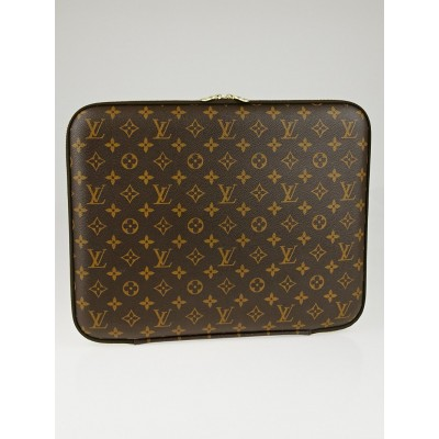 "Louis Vuitton Monogram Canvas 15"" Laptop Case"