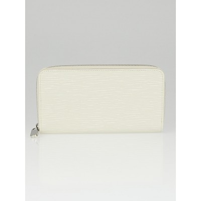 Louis Vuitton Ivory Epi Leather Zippy Wallet