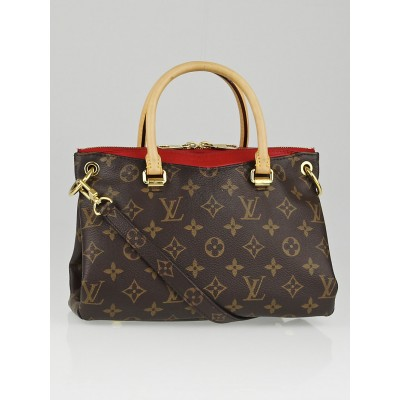 Louis Vuitton Cerise Monogram Canvas Pallas BB Bag