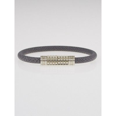 Louis Vuitton Glacier Taiga Leather Digit Bracelet