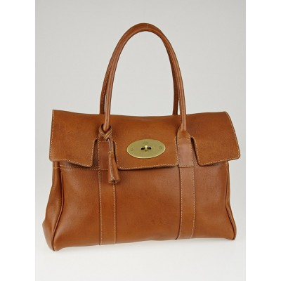 Mulberry Oak Natural Vegetable Tanned Leather Bayswater Bag