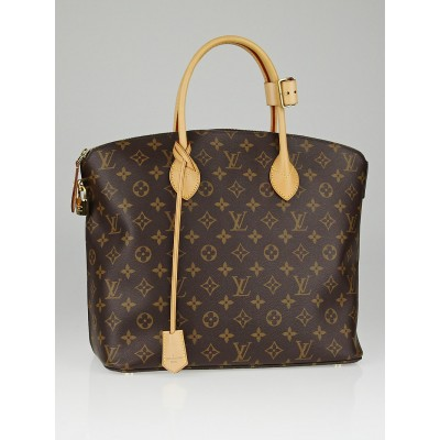 Louis Vuitton Monogram Canvas Lockit MM Bag