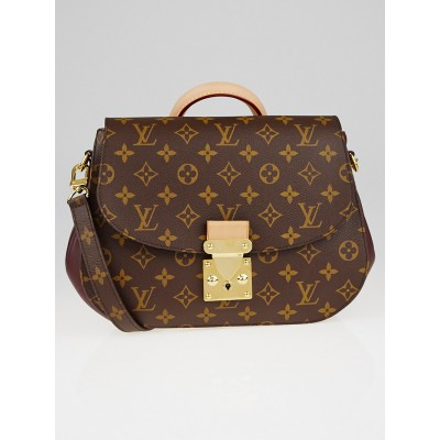 Louis Vuitton Bordeaux Monogram Canvas Eden MM Bag