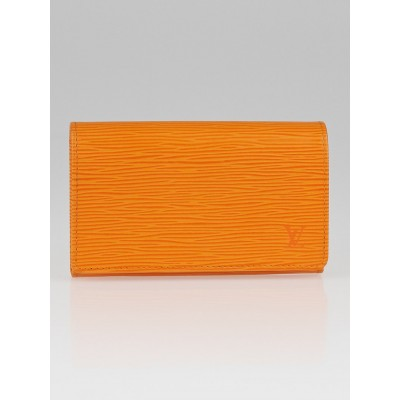 Louis Vuitton Mandarin Epi Leather Porte Monnaie Wallet