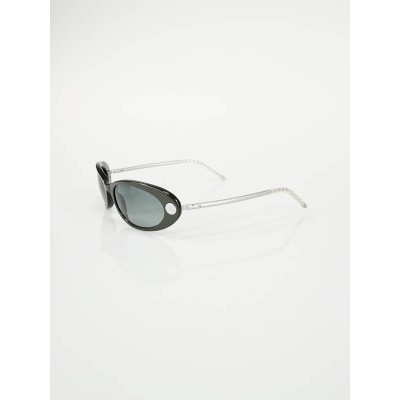 Chanel Grey Frame Grey Tint Lens Sunglasses