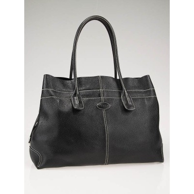 Tod's Black Leather D Bag Media Bag