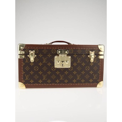 Louis Vuitton Monogram Canvas Large Beauty Case with Mirror