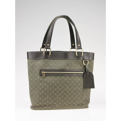 Louis Vuitton Dark Green Mini Monogram Lucille GM TST Bag