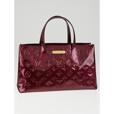 Louis Vuitton Rouge Fauviste Monogram Vernis Wilshire PM Bag