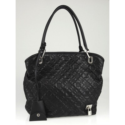 Louis Vuitton Black Monogram Antheia Leather Lilia PM Bag