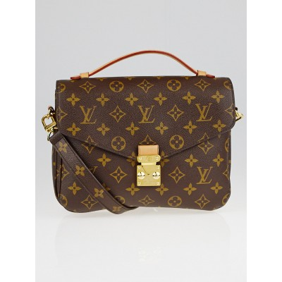 Louis Vuitton Monogram Canvas Pochette Metis Bag