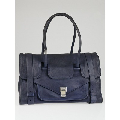 Proenza Schouler Midnight Leather Small PS1 Keep All Bag