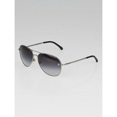 Chanel Metal Frame Gradient Tint Aviator Sunglasses - 4189