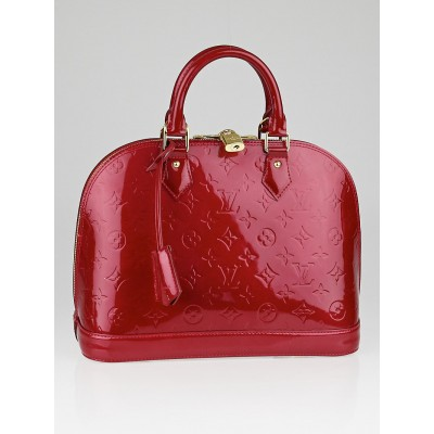 Louis Vuitton Pomme D'Amour Monogram Vernis Alma PM Bag