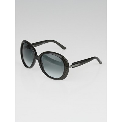 Gucci Black Frame Gradient Tint Oversize Sunglasses - 3534/S