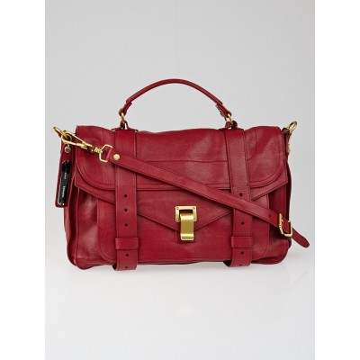 Proenza Schouler Chianti Leather Medium PS1 Satchel Bag