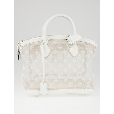 Louis Vuitton Limited Edition Monogram Transparence Lockit Bag