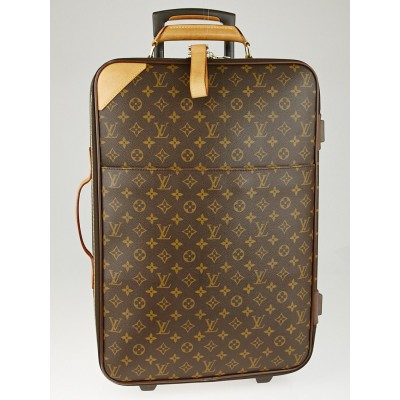 Louis Vuitton Monogram Canvas Pegase 60 Suitcase