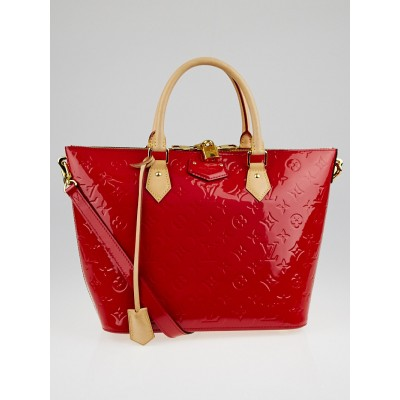 Louis Vuitton Cerise Monogram Vernis Montebello MM Bag