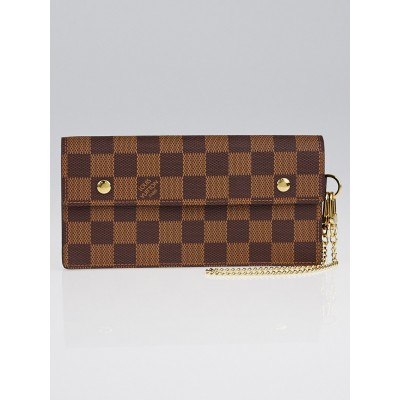 Louis Vuitton Damier Canvas Accordeon Clutch Wallet