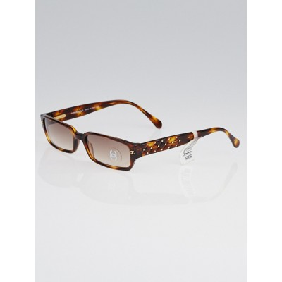 Chanel Tortoise Shell Small Frame Gradient Tint Sunglasses - 5058