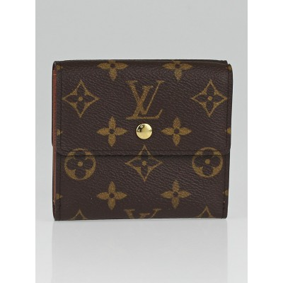 Louis Vuitton Monogram Canvas Elise Wallet