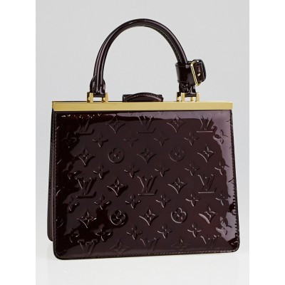 Louis Vuitton Amarante Monogram Vernis Deesse PM Bag