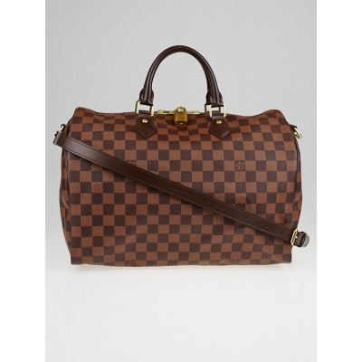 Louis Vuitton Damier Canvas Speedy Bandouliere 35 Bag