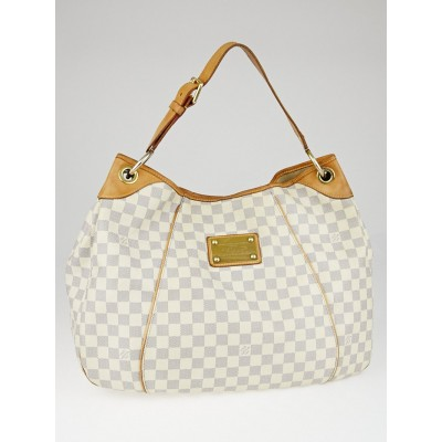Louis Vuitton Damier Azur Canvas Galliera GM Bag
